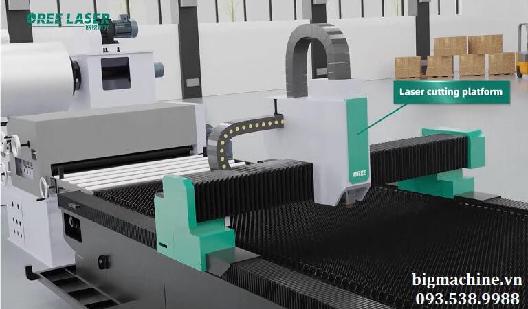 máy cắt laser fiber RF-EZ