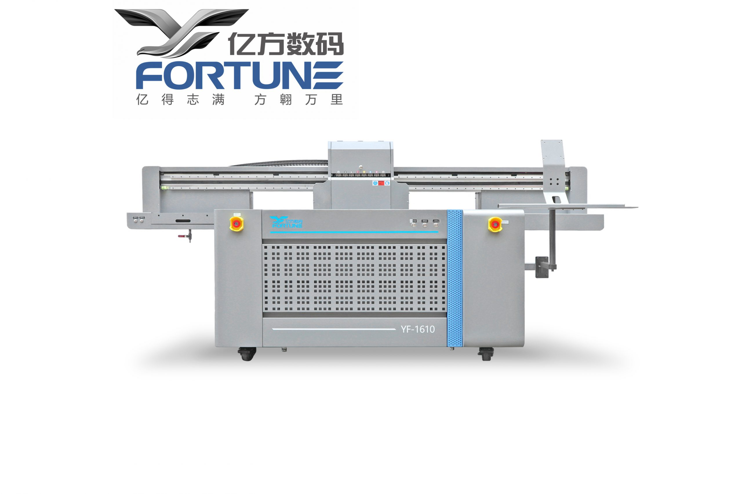 Máy In UV Phẳng Fortune YF 1610T LED