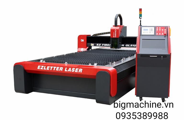 Máy Cắt Laser Fiber nguồn phát IPG từ Đức