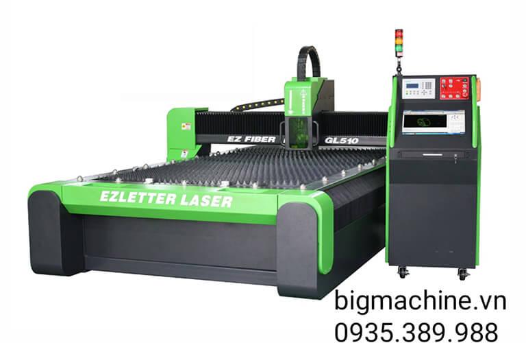Máy Cắt Laser Fiber EZCNC cắt Inox