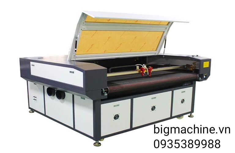 Máy cắt vải Laser 1610 2 đầu tự động