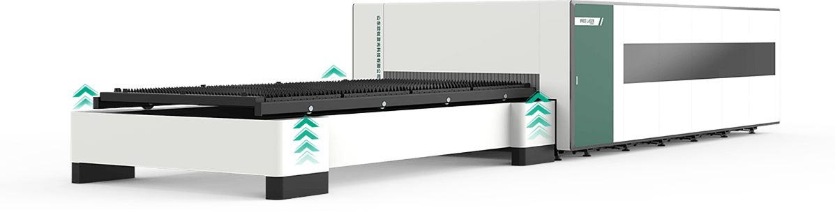 Máy Cắt Laser Fiber OREE-H Công Suất 6KW Chính Xác Cao