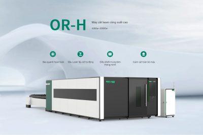 Máy cắt laser fiber OREE -H công suất 6kw