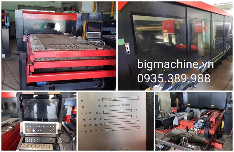 Máy Cắt Laser Fiber Amada FOM2RI-3015NT