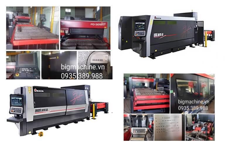 Máy cắt Laser Fiber Amada là các dòng máy thuộc thương hiệu Amada của Nhật Bản, các máy đều sử dụng công nghệ tiên tiến cho hiệu quả cắt đa dạng trên nhiều vật liệu khác nhau, mang lại nhiều lợi ích thiết thực khi gia công