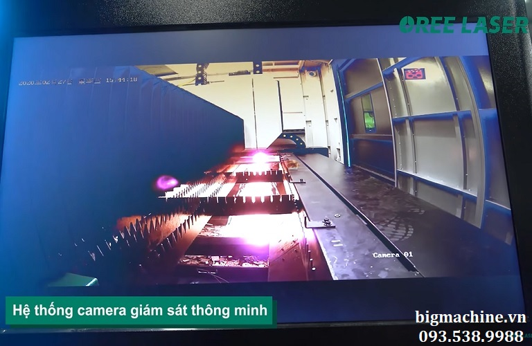 Máy Cắt Laser Fiber OREE-H