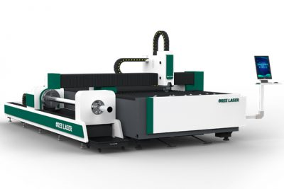 Máy cắt laser fiber OREE cắt bàn và cắt ống kim loại