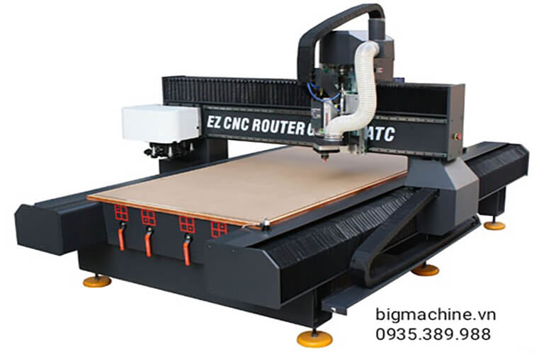 Máy CNC cắt gỗ công nghiệp Ezletter GR1530