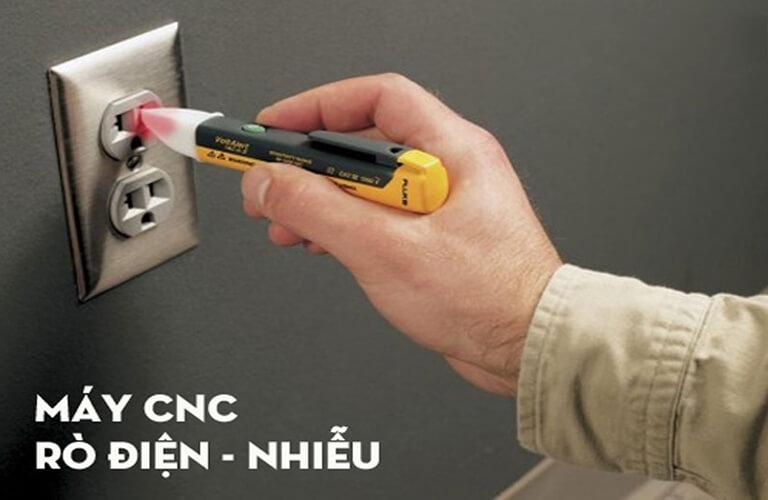 Máy CNC bị rò điện rất nguy hiểm, khi phát hiện cần khắc phục nhanh chóng