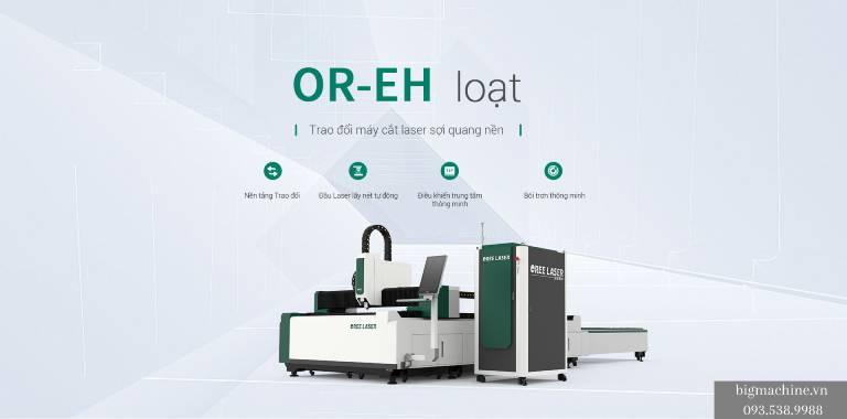 máy cắt laser fiber OREE-EH