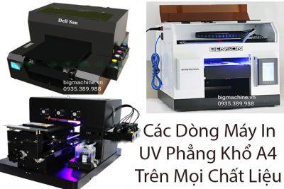 Báo Giá Top 4 Máy In UV Phẳng Khổ A4 Trên Mọi Chất Liệu