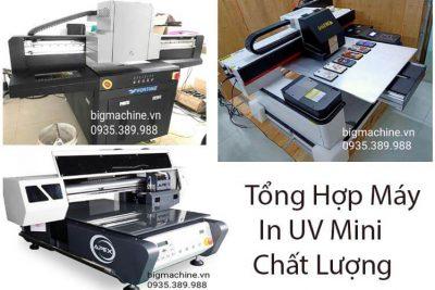 Tổng Hợp 4 Máy In UV Mini Khổ Nhỏ 40×60, 60×90 Giá Rẻ