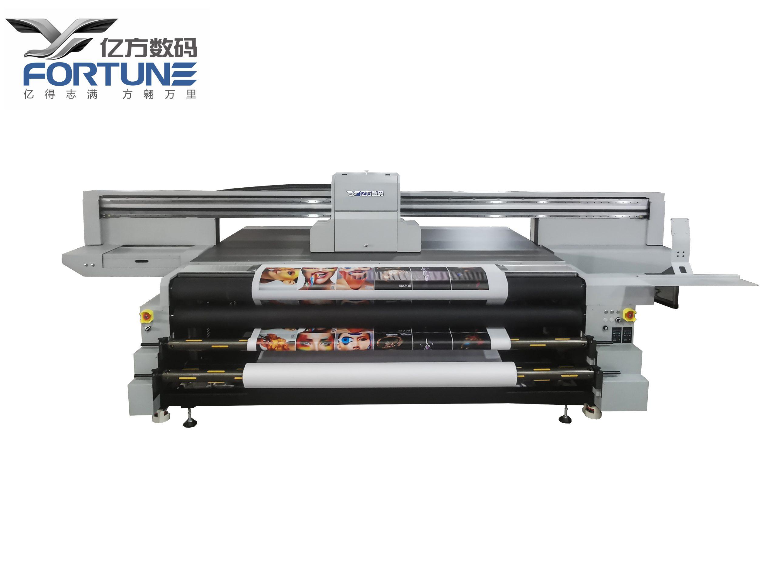 Máy in cuộn và phẳng Fortune YF-2512KR UV