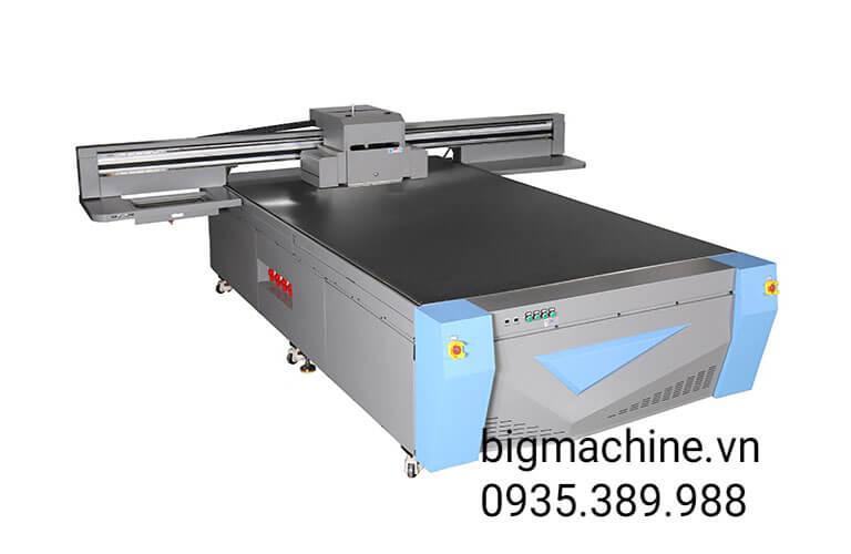 Máy in UV trên kính Fortune YF-2032G LED có độ bền cao, khung máy chắc chắn đảm bảo độ ổn định khi máy in ấn